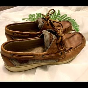 Sperry Top Sider Brown Shoes Size 8
